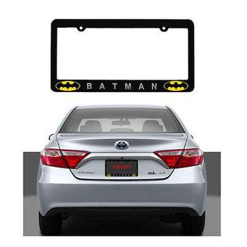 Licensed Official New Car Truck Suv Van Universal Fit License Plate Frame Made in U.S.A