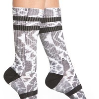 Women's Stance 'Prism' Combed Cotton Blend Socks - White