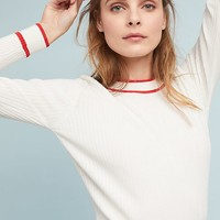 Ebba Trimmed Pullover