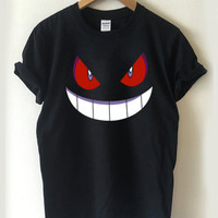 Pokemon Gengar T-shirt Men, Women, Youth and Toddler