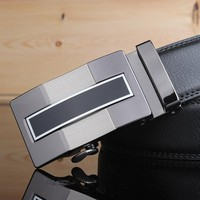 Leather Straps Belt with Automatic Buckles