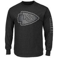 Majestic Kansas City Chiefs Up and Over Tee