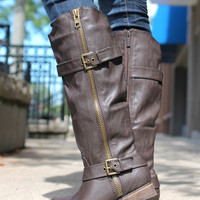 Wayfaring Rider Boot - Brown