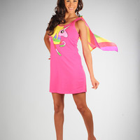 Adventure Time 'Rainacorn' Cape Tank Dress