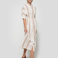 Farrow / Striped Tunic Dress