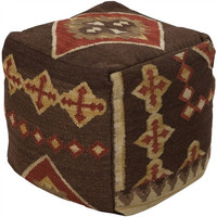 Frontier Pouf  19 Brown