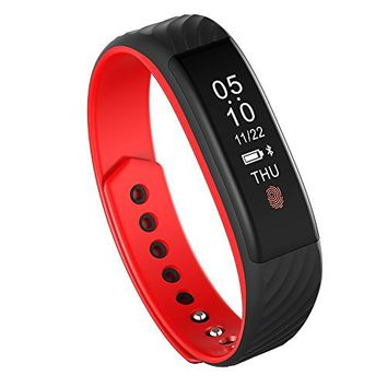 Fitness Tracker, MoreFit Slim Touch Screen Activity Health Tracker Wearable Pedometer Smart Wristband