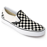 Vans Slip-On Black & White Checkered Skate Shoes