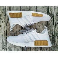 """Adidas"" NMD Boots Casual Sports Shoes White-Gold I"