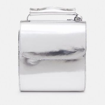 Marques'Almeida Metallic Leather Handbag - WOMEN - JUST IN - Marques'Almeida - OPENING CEREMONY