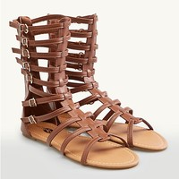 Buckled Gladiator Sandals