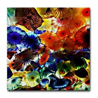 Blown Glass Tile Coaster by paintedlynx- 442725970