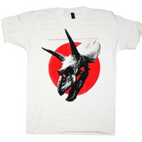 Alice in Chains the Devil Put Dinosaurs Here Red Dot T-Shirt