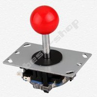 Red Ball 8 Way Joystick Fighting Stick Parts for Game Arcade free shipping