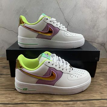 Morechoice Tuhz Nike Air Force 1 Low Easter Sneakers Casual Skaet Shoes Cw5592-100