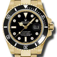 Rolex Submariner Mens Automatic Watch 116618BKDO