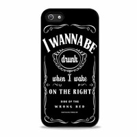 Ed Sheeran Drunk Lyrics jack daniels actress  Iphone 5S Cases