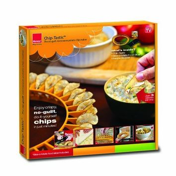 Ronco CH1001YLGEN Chip Tastic with Slicer, Yellow