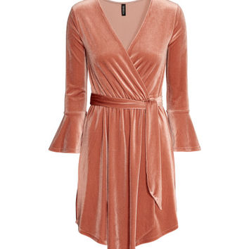 Wrapover Dress - from H&M