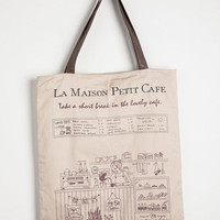 Eco-Friendly, Travel, French Petit Cafe Tote by ModCloth