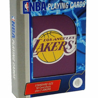 NBA Los Angeles Lakers Playing Cards