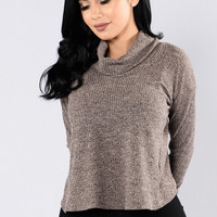 A Lesson In Leaving Sweater - Dusty Pink