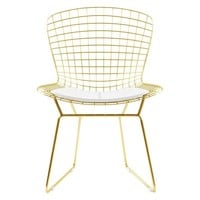 Wire Chair - Gold
