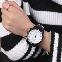 Awesome Good Price Gift Designer's New Arrival Trendy Great Deal Couple Luxury Korean Stylish Silicone Dial Watch [10812578499]