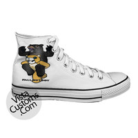Fall Out Boy Folie a Deux  FOB White shoes New Hot Shoes