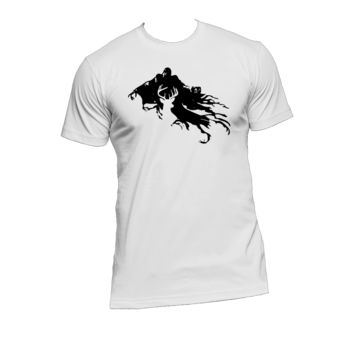 Dementor and Patronus Ladies or Mens T Shirt,Harry Potter,Azkaban,Nerd Girl Tees,Geek Chic