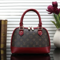 Fashion Leather Tote Shoulder Bag Crossbody Satchel