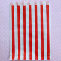 Red Candy Shop Stripe Bags