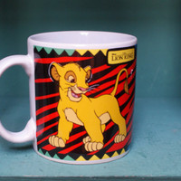 Lion King Simba Disney Mug