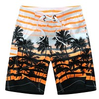 2017 Summer style brand shorts men high quality beach shorts surf quickly dry comfortable mens board shorts masculino size M-6XL
