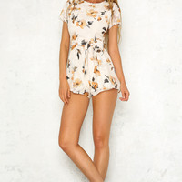 Lot Of That Playsuit Beige