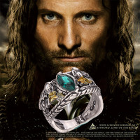 Ring of Barahir Aragorn Gondor The Hobbit Lord of the Rings LOTR USA Size No.7-10