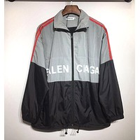 BALENCIAGA Newest Hot Sale Zipper Cardigan Sweatshirt Jacket Coat Windbreaker Sportswear 3#