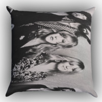 Fleetwood Mac Stevie Nicks Rumours Zippered Pillows  Covers 16x16, 18x18, 20x20 Inches
