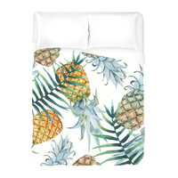Population: Pineapple Duvet Cover