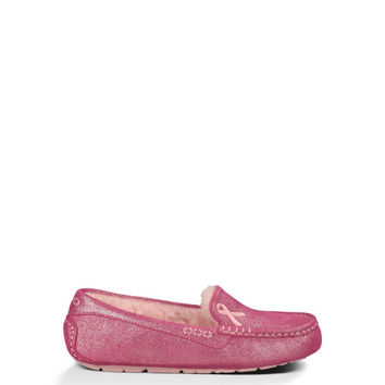 UGG® Official | Women's Shiny Ansley Cancer Awareness Slippers | At UGGAustralia.ca