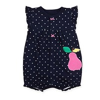 2017 Baby Rompers Summer Baby Girl Clothes Cute Newborn Baby Clothes Baby Girl Clothing Sets Roupas Bebe Infant kid Clothing
