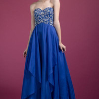 PRIMA C137677 Long Chiffon Prom Dress