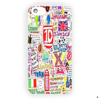 One Direction 1D Quotes Lyric For iPhone 5 / 5S / 5C Case