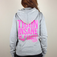 oGorgeous Gym Boutique - TRAIN INSANE or remain the same Skinny Hoodie
