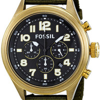 Fossil DE5018 Mens Watch Chronograph Stainless Steel Case