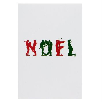 Naughty Noel Christmas Card