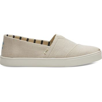 TOMS - Venice  Collection Natural Heritage Canvas Men's Cupsole Classics Slip-Ons