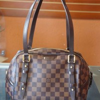 AUTH LOUIS VUITTON Damier Rivington PM Shoulder bag