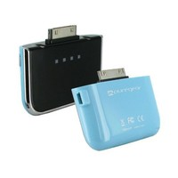 PureGear Rechargeable (Blue) Portable External Battery Pack Charger for Apple iPhone 4S, 4, 3GS, 3G (Made for iPhone Mfi Certified) - Bulk Packaging