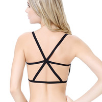 'The Kerry' Padded Bra Backless Tank Tops